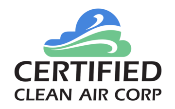 UNILUX_Certified_Clean_Air_Corp_logo_Square White Outline
